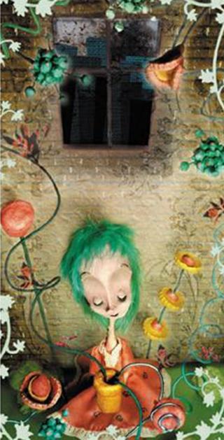 charlotte portrait - blog. Neil Hughes Puppet Illustration.