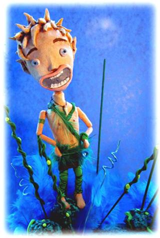 peter pan - blog. Neil Hughes Puppet Illustration.
