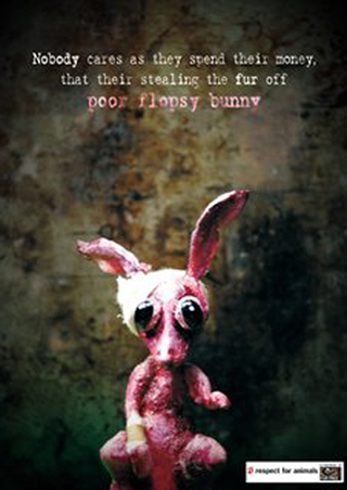 poor bunny- blog. Neil Hughes Puppet Illustration.
