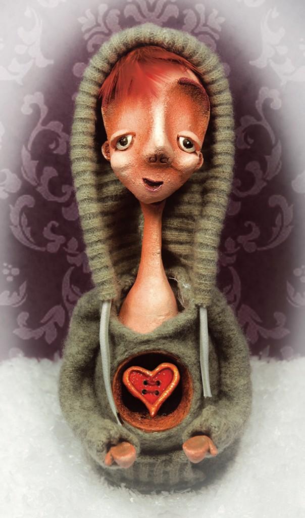 anniversary boy - portfolio. Neil Hughes Puppet Illustration.