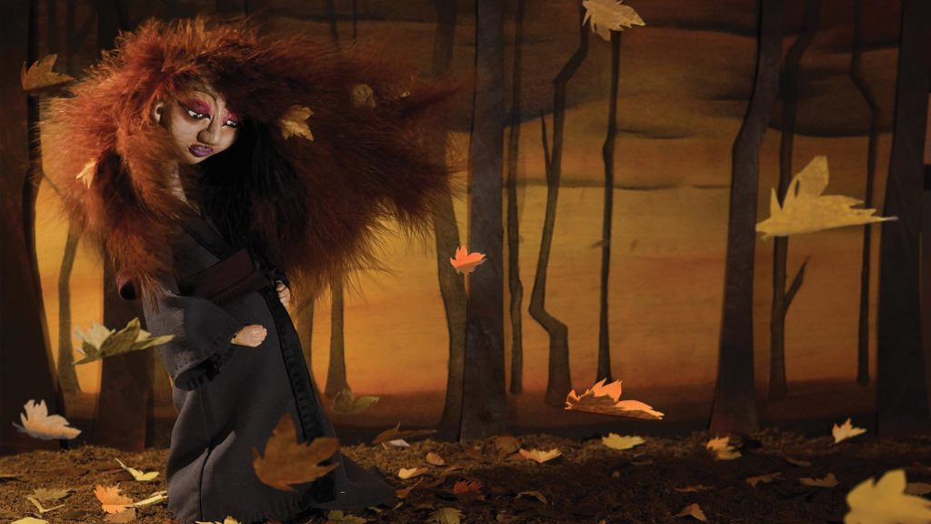 Autumn home page | Neil Hughes Puppet Illustration