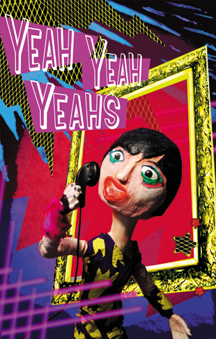 sing - zine page 3 - blog. Neil Hughes Puppet Illustration.