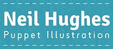 Neil Hughes Puppet Illustration