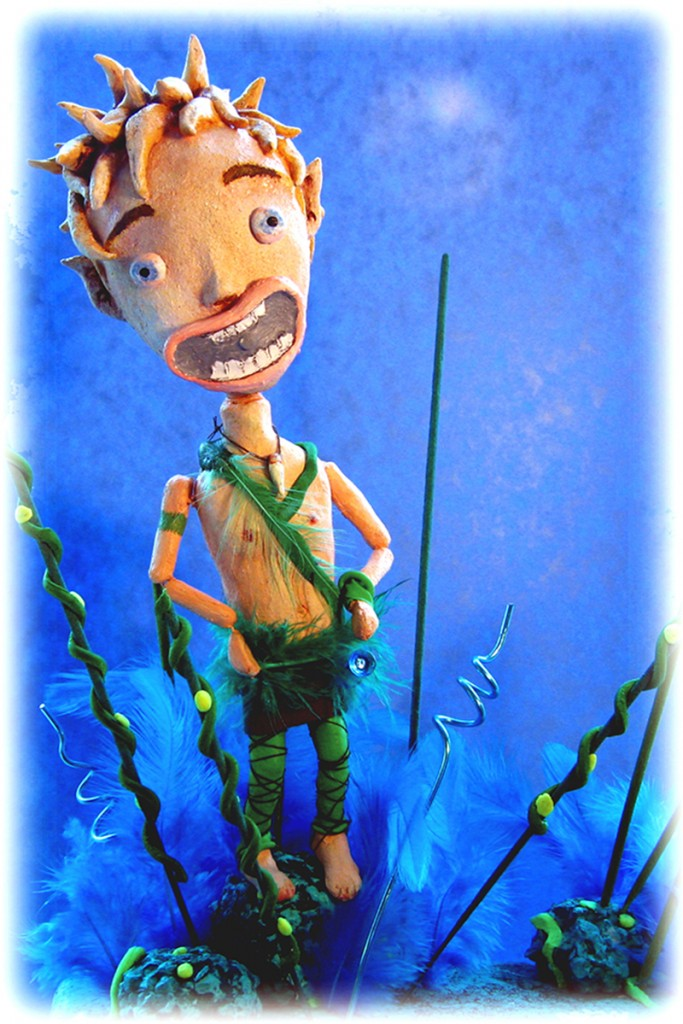 peter pan - Portfolio. Neil Hughes Puppet Illustration.