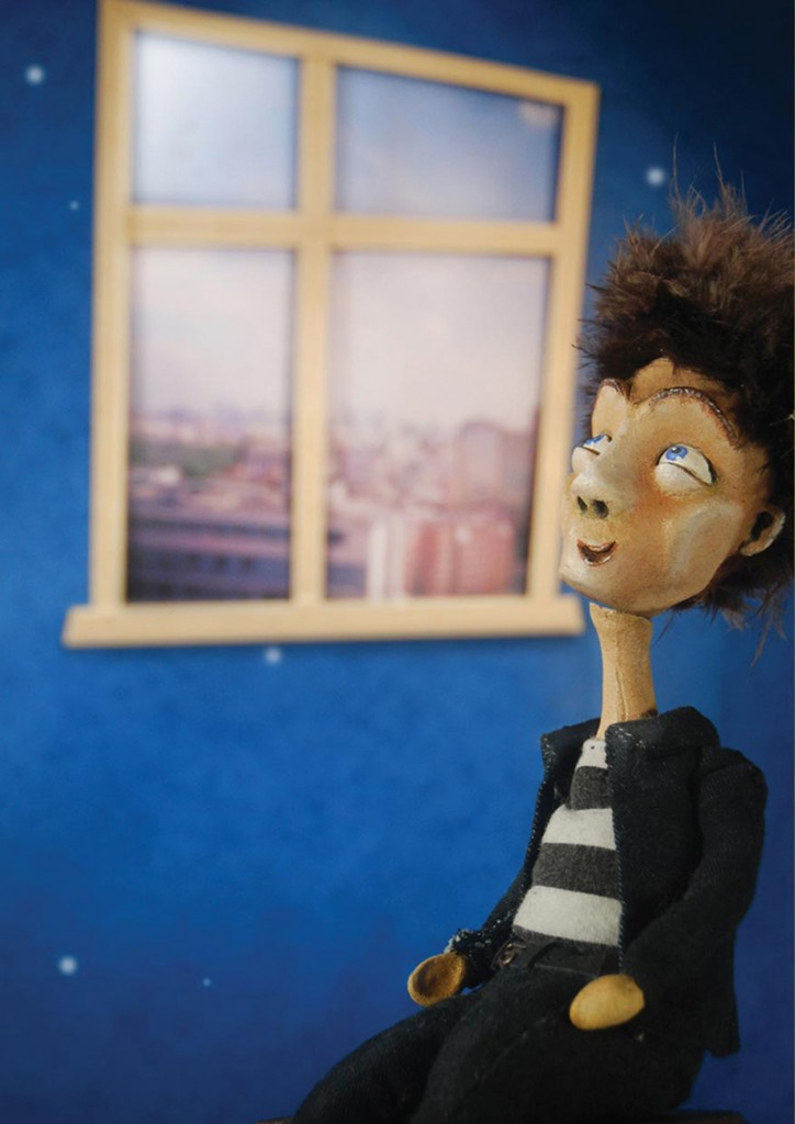 Mario - portfolio. Neil Hughes Puppet Illustration.
