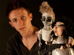 me photoshoot 1 - blog. Neil Hughes Puppet Illustration.