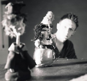 me photoshoot 4 - blog. Neil Hughes Puppet Illustration.