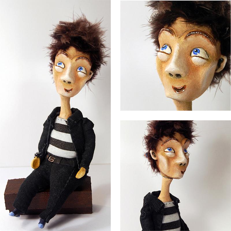 Wayne - blog. Neil Hughes Puppet Illustration.