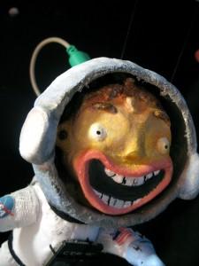 Space Kid - portfolio. Neil Hughes Puppet Illustration.