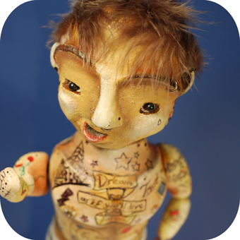 selfie preview wayne - blog. Neil Hughes Puppet Illustration.