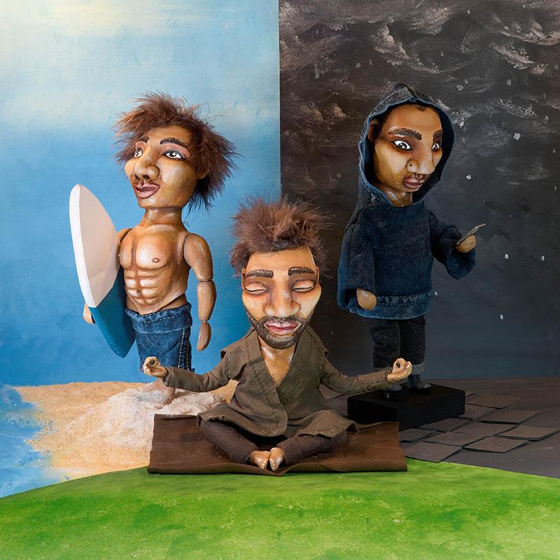 State of Mind | Artwork | Neil Hughes Puppet Illustration | Mental Health